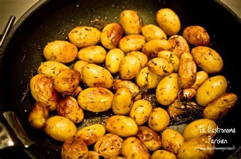 comment cuisiner les pommes de terre grenaille recettes pommes de terre grenaille