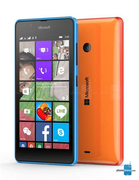microsoft lumia 540 dual specs