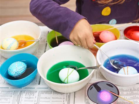 dye easter eggs real simple