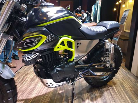 Gambar Motor Honda Cb150 Verza by Modifikasi Honda Cb150 Verza Fighter Scrambler By Baru