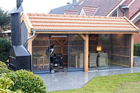 Holländischer Fenster Sichtschutz by Grillplatz
