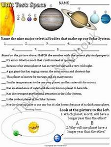 Inner and Outer Planets Worksheets - Pics about space