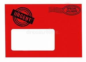 urgent letter stock illustration illustration of With urgent letter envelopes