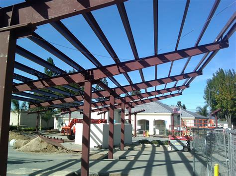 Building A Metal Carport by Steel Carports Solar Structures Pascal Steel Buildings
