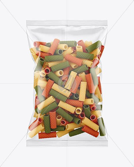 900+ vectors, stock photos & psd files. Frosted Plastic Bag With Tricolor Tortiglioni Pasta Mockup ...