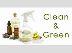 Clean & Green Creating ChemicalFree Cleaning Products