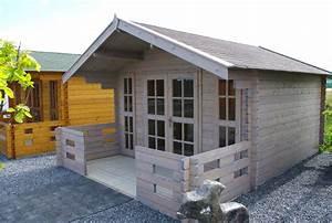 Farbe Für Gartenhaus : gartenhaus in grau modern zeitlos und elegant so muss das ~ Watch28wear.com Haus und Dekorationen