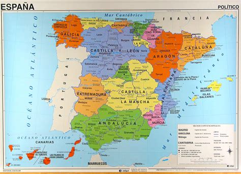 Carte D Espagne Avec Villes by Cartograf Fr Carte Espagne Page 3