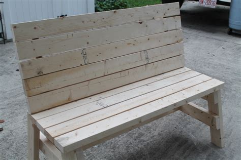 ana white simple  bench diy projects