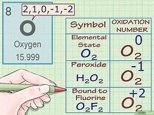 Oxidationszahlen Bestimmen  U2013 Wikihow