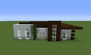 Blueprints, Minecraft, House, Small, Simple, Dark, Oak, Planks