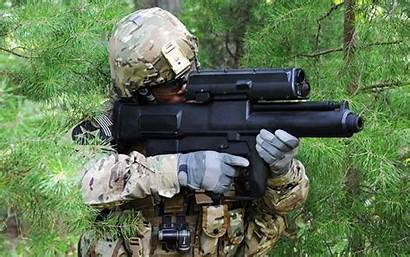 Afghanistan Weapon Deploys Changer Xm25 Target Defilade
