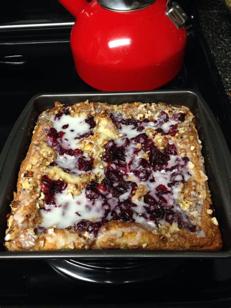 cranberry nut coffee cake yum  cups bisquick baking