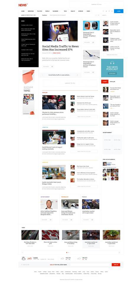 Desarrollo Web Templat by News 2 Magazine Portal Joomla Template Tendencias Web