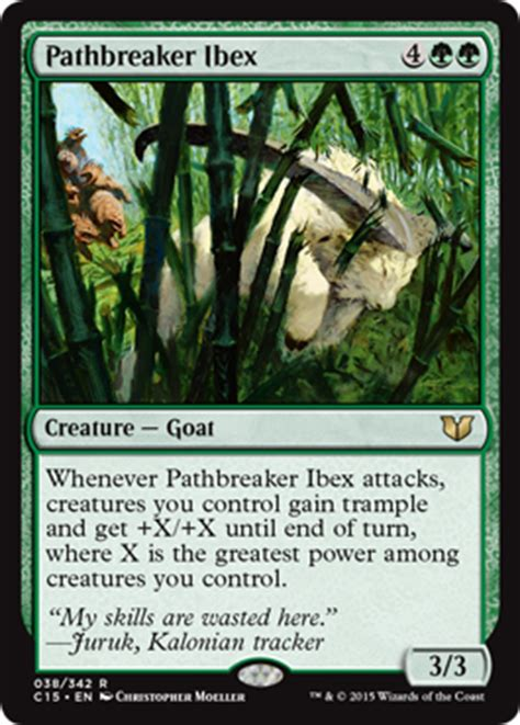 mtg goat deck edh commander 2015 edition release notes magic the gathering