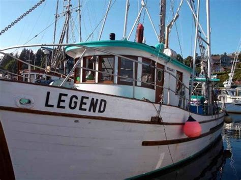 Commercial Fishing Boats For Sale In Oregon by Commercial Fishing Boat Salmon Troll Package 1961 Used