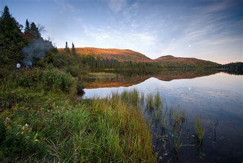 montreal photo photoblog of julien roumagnac parc du mont tremblant lac lajoie