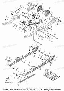 Yamaha Snowmobile 2014 Oem Parts Diagram For Track
