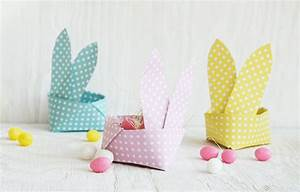 Osterkorb Basteln Vorlage : 10 adorable and easy easter bunny crafts ~ Orissabook.com Haus und Dekorationen