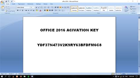 Ms Office Version by 100 Working Ms Office 2016 Product Key