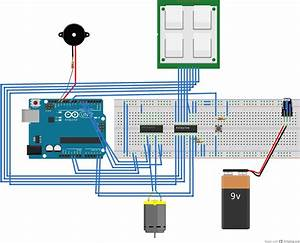 Keypad Door Automation With An Arduino Uno