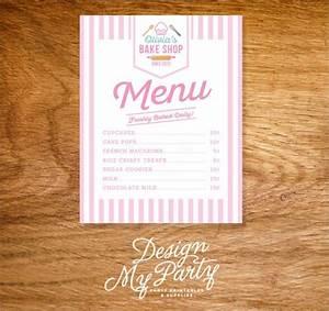 Simple Order Form Template 16 Sample Bakery Menu Templates Sample Templates