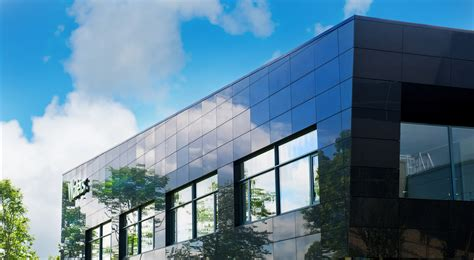 ceramic granite rainscreen facade panels paroc panel