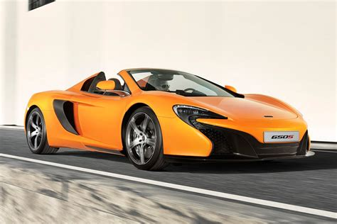 Mclaren 650s Spider Takes Over For The 12c Spider