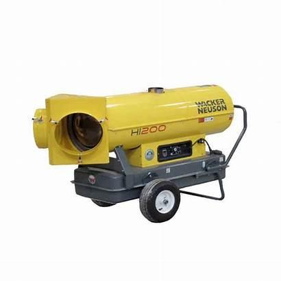 Indirect Heater Diesel Wacker Duty Hi Heavy