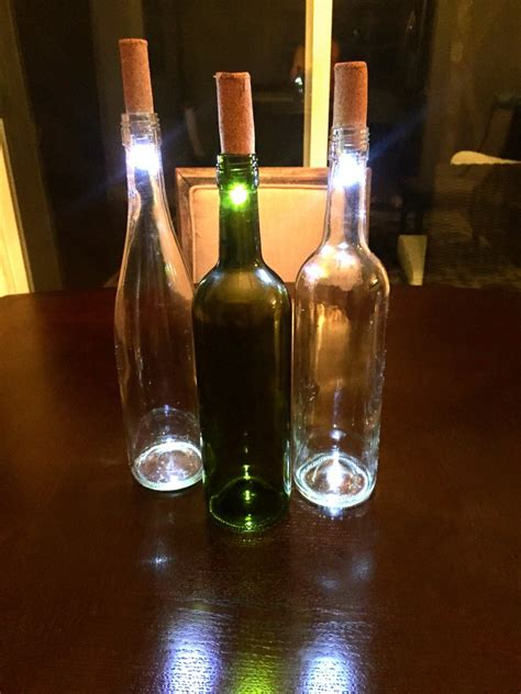 how to put lights in a wine bottle diy wine bottle lights a unique way to upcycle empty