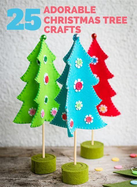 adorable christmas tree crafts kids