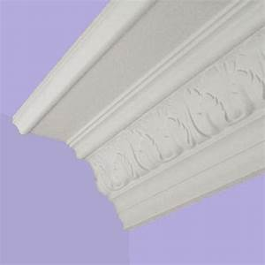 Victorian coving - Shell and leaf Plaster coving