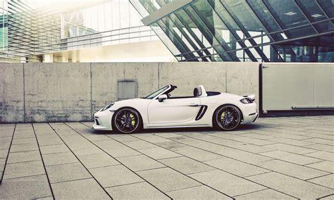 Porsche 718 Modification by Techart Porsche 718 Cayman And Boxster Inmods For Car