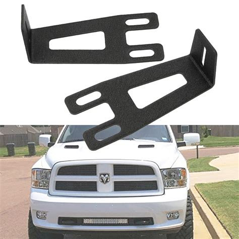 22 quot inch led light bar front bumper mount bracket for 03 16