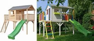 Maisonnette En Bois Sur Pilotis : maisonnette en bois sacha bois naturel magnifique ~ Dailycaller-alerts.com Idées de Décoration