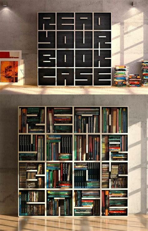 Bücherregal Ideen  über 60 Inspirationen Für Ihr Zuhause