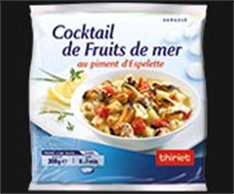 cocktail de fruits de mer au piment d espelette surgel 233