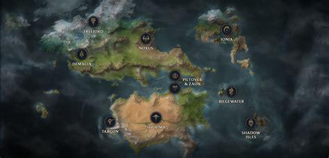 surrender   runeterra map  universe