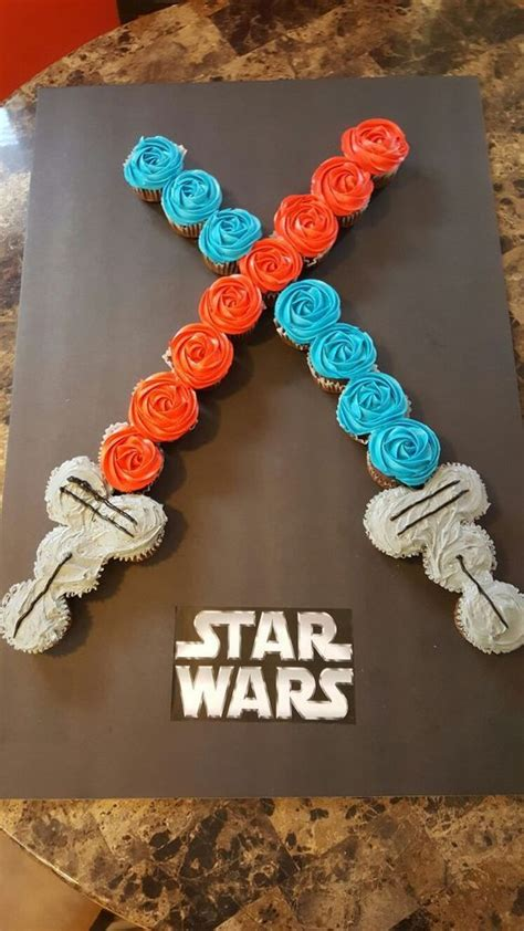 star wars cupcakes ideas  pinterest star wars