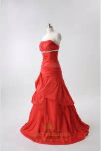 Red Ball Gown Prom Dresses 2016 UK,Long Red Ball Gowns