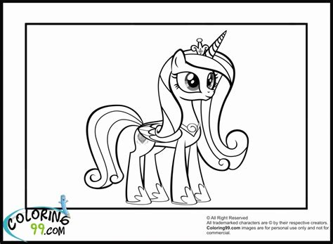 Kleurplaat My Pony Princess by Princess Cadence Coloring Pages Coloring Home