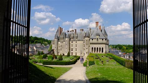 ChÂteau And Park Of Langeais, The Loire Valley, A Journey