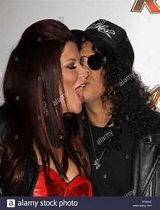 Slash & Perla Hudson 102.7 KIIS FM's Jingle Ball ...