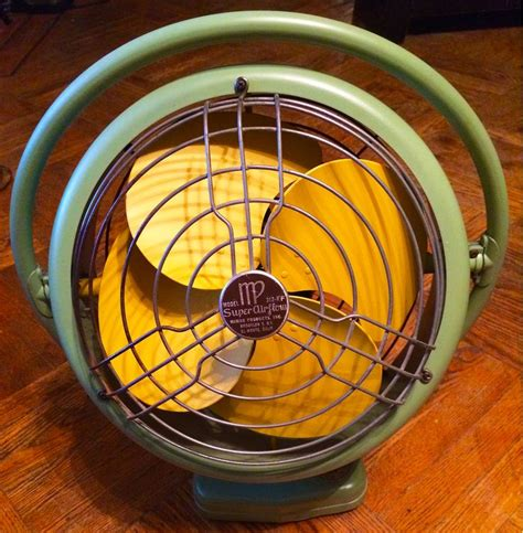 refurbished vintage mimar products airflow electric fan my completed house projects