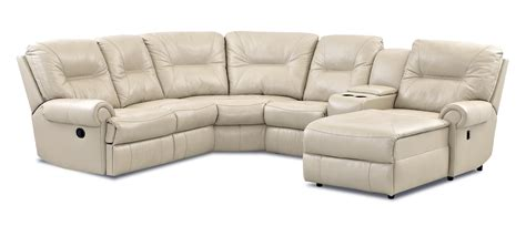 klaussner sectional sofa klaussner roadster traditional reclining sectional sofa