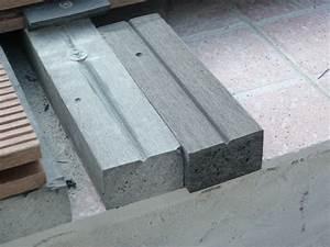 Pose Lame Composite : montage terrasse composite montage terrasse composite sur ~ Premium-room.com Idées de Décoration