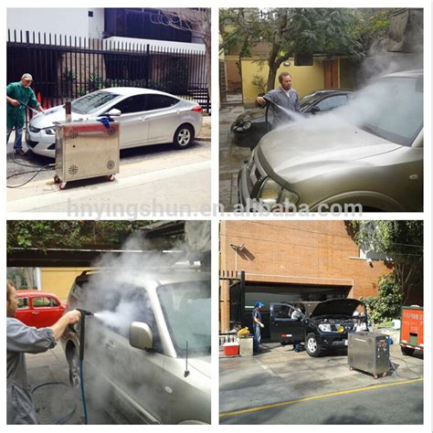 New 30 Bar Diesel Type Mobile Wet Dry Steam Car Wash Self