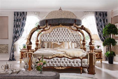 chambre de commerce italienne italienne rococo français mobilier de chambre de luxe