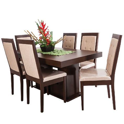 comedores de madera comedor murano 6 sillas estilo contempor 225 neo