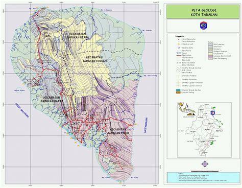 amazing indonesia tarakan city island map